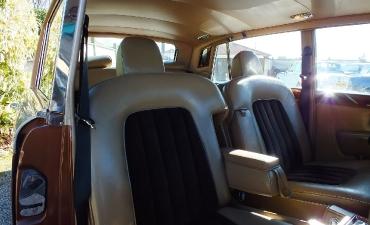 Intérieur - Rolls Royce Silver Wraith II 1983_10