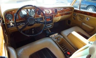 Intérieur - Rolls Royce Silver Wraith II 1983_14