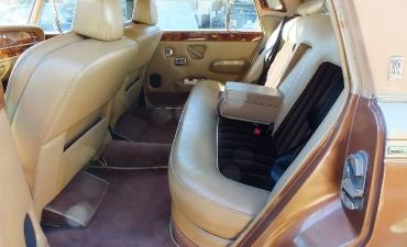 Intérieur - Rolls Royce Silver Wraith II 1983_1