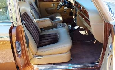 Intérieur - Rolls Royce Silver Wraith II 1983_6