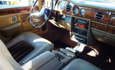 Intérieur - Rolls Royce Silver Wraith II 1983_8